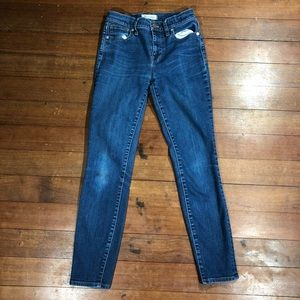 Price Firm! Madewell High Rise Skinny Jeans
